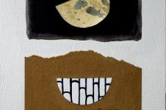 Todos duermen, no queda nada entre la luna y yo (Enomoto Seifu jo, poetisa japonesa. 1732-1815)